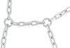 titan chain tire chains class s compatible alloy snow - diamond pattern square link 1 pair
