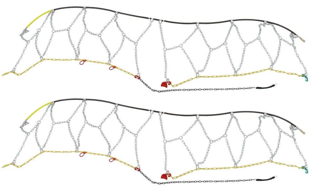Titan Chain Steel Square Link Tire Chains - TC1540
