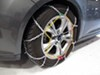 Tire Chains TC1545 - No Rim Protection - Titan Chain on 2012 Ford Focus