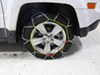 Titan Chain Alloy Snow Tire Chains - Diamond Pattern - Square Link - 1 Pair Assisted TC1547