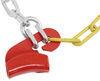 Titan Chain Alloy Snow Tire Chains - Diamond Pattern - Square Link - 1 Pair No Rim Protection TC1555