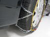 Titan Chain Alloy Snow Tire Chains - Diamond Pattern - Square Link - 1 Pair Assisted TC1555