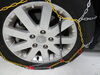 Titan Chain Alloy Snow Tire Chains - Diamond Pattern - Square Link - 1 Pair No Quick Release TC1555