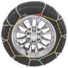 Titan Chain Alloy Snow Tire Chains - Diamond Pattern - Square Link - 1 Pair No Rim Protection TC1555