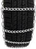 Titan Chain Snow Tire Chains - Ladder Pattern - Twist Links - 1 Pair Not Class S Compatible TC2221