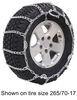 TC2228CAM - No Rim Protection Titan Chain Tire Chains