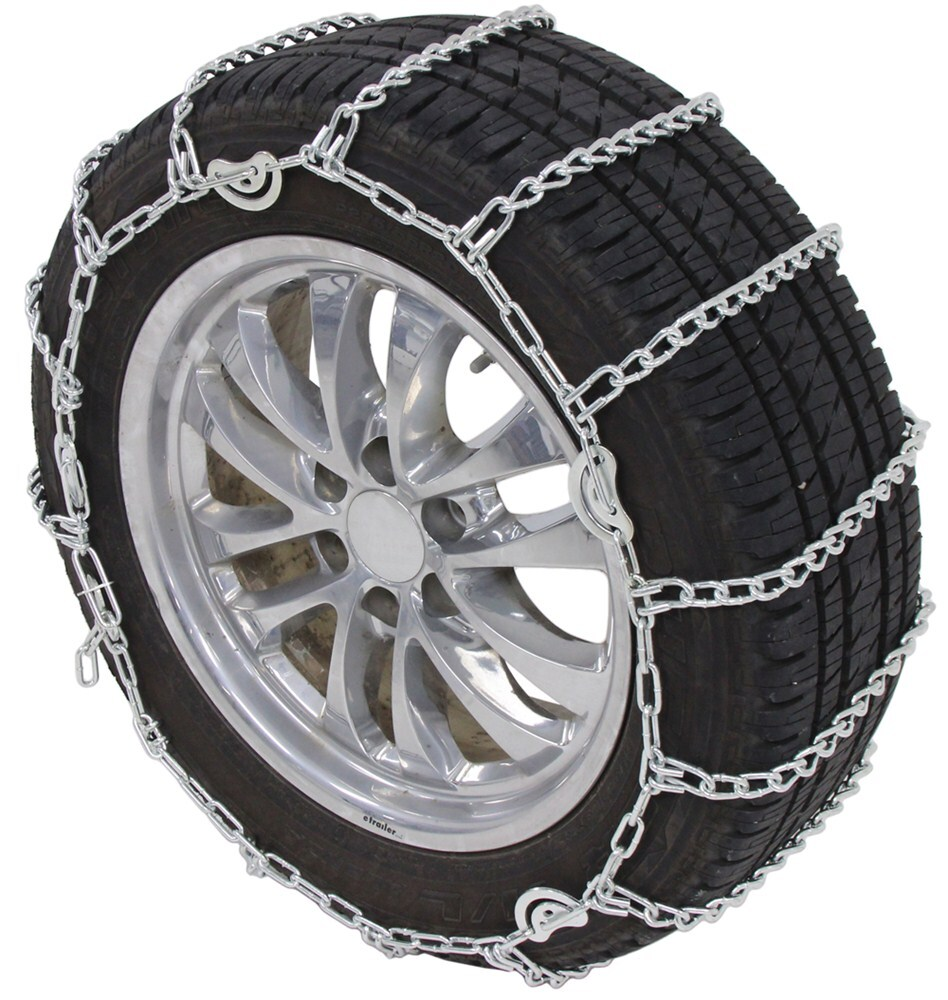 Titan Chain Snow Tire Chains with Cams - Ladder Pattern - Twist Links - 1 Pair Not Class S Compatible TC2228CAM