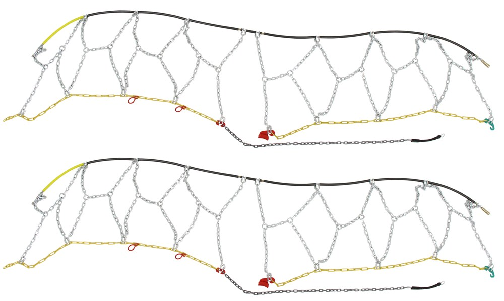 TC2318 - Drape Over Tire - Make Connections Titan Chain Tire Chains