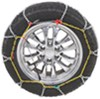 Titan Chain Alloy Snow Tire Chains - Diamond Pattern - Square Link - 1 Pair Drape Over Tire - Make Connections TC2321