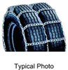 titan chain tire chains on road or off mud service snow for dual tires - ladder pattern twist link 1 axle set