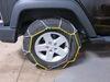 Tire Chains TC2526 - Not Class S Compatible - Titan Chain on 2017 Jeep Wrangler Unlimited