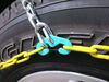 TC2526 - Deep Snow Titan Chain Tire Chains on 2017 Jeep Wrangler Unlimited