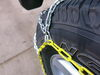 Titan Chain Alloy Snow Tire Chains - Diamond Pattern - Square Link - 1 Pair Drape Over Tire - Make Connections TC2526 on 2017 Jeep Wrangler Unlimited