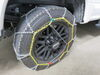 TC2536 - Steel Square Link Titan Chain Tire Chains on 2019 Ford F-350 Super Duty