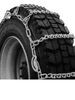 titan chain tire chains - ladder on road only snow w/ cams pattern v-bar link 1 pair