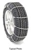 titan chain tire chains cables on road only cable snow for wide base tires - ladder pattern steel rollers 1 pair