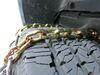 Titan Chain Deep Snow Tire Chains - TC3229SCAM on 2017 Ram 2500