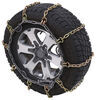 Titan Chain Alloy Snow Chains w/ Cams for Wide Base Tires - Ladder Pattern - Square Link - 1 Pair Steel Square Link TC3229SCAM