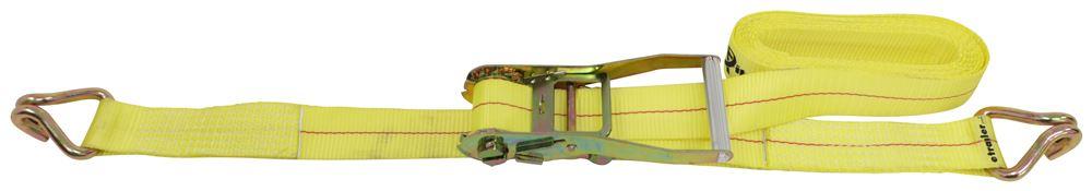 "Titan Chain Ratchet Tie-Down Strap with Double J-Hooks - 2"" x 20' - 3,333 lbs Manual TCLR22021-2"