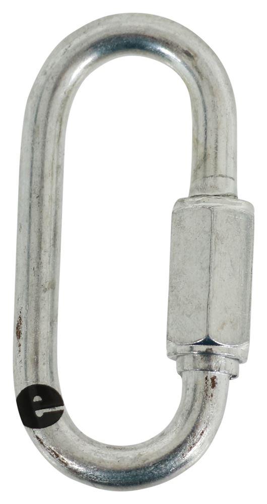 "Titan Chain Threaded Quick Link - 2"" Long - 0.250"" Thick 0.250 Inch Diameter TCQL192"