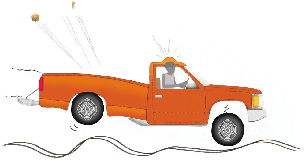 Dodge Durango Timbren Rear Suspension Enhancement System