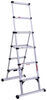 telesteps rv ladders a-frame telescoping telescopic ladder - 6' extended height 10' reachable 375 lbs