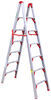 telesteps rv ladders a-frame 250 lbs folding ladder - 7' tall 11' reachable height