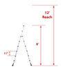 telesteps rv ladders 375 lbs 8 feet tall te57fr
