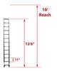 telesteps rv ladders 300 lbs 12-1/2 feet tall te64fr