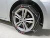 TH01221102 - Deep Snow Konig Tire Chains on 2014 Volkswagen Passat