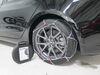 Konig Standard Snow Tire Chains - Diamond Pattern - D Link - CB12 - Size 102 No Rim Protection TH01221102 on 2020 Tesla Model 3