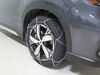 Konig Standard Snow Tire Chains - Diamond Pattern - D Link - CB12 - Size 104 On Road Only TH01221104 on 2020 Subaru Forester