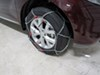 TH01571255 - Steel D-Link Konig Tire Chains on 2014 Nissan Murano