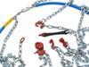 Konig Standard Snow Tire Chains - Diamond Pattern - D Link - XB16 - Size 255 No Rim Protection TH01571255