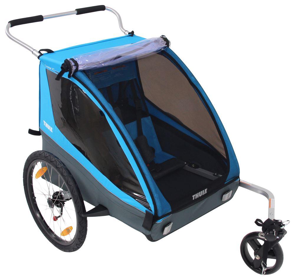 Thule Coaster XT Bike Trailer and Stroller - 2 Child ...