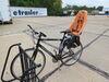 Thule Yepp Maxi Child Bike Seat - Rear - Seat Post Mount - Orange 48-1/2 lbs TH12020234