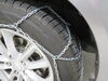 Konig Self-Tensioning, Low-Profile Snow Tire Chains - Diamond Pattern - D Link - CG9 - Size 105 Automatic TH2004205105