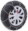 konig tire chains steel d-link self-tensioning low-profile snow - diamond pattern d link cg9 size 105