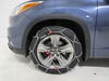 2016 toyota highlander tire chains konig class s compatible on a vehicle
