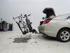 0  hitch bike racks thule platform rack fits 1-1/4 inch on a vehicle