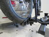 0  hitch bike racks thule platform rack tilt-away t2 pro xtr for 2 bikes - 1-1/4 inch hitches wheel mount