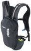 thule backpacks hiking hydration biking vital backpack - 1.75 liter reservoir obsidian 3 liters