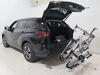 2021 toyota highlander hitch bike racks thule platform rack 2 bikes helium - 1-1/4 inch and hitches tilting wheel mount