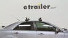 Thule Locks Not Included Roof Rack - TH480R on 2008 Mazda 6