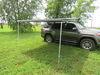 0  car awning thule roof rack mount 96 square feet hideaway - waterproof 12' 3 inch long x 8' wide