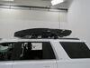 Thule Vector Alpine Rooftop Cargo Box - 13 Cubic Ft - Gloss Black Medium Capacity TH613501 on 2020 Chevrolet Tahoe