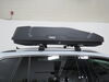2018 volkswagen tiguan roof box thule aero bars factory square round elliptical high profile on a vehicle