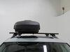 2018 volkswagen tiguan roof box thule dual side access force xt sport rooftop cargo - 11 cu ft black aeroskin