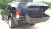 Thule Transporter Combi Hitch Mounted Enclosed Cargo Carrier - Tilting Light Duty TH665C on 2005 Nissan Pathfinder