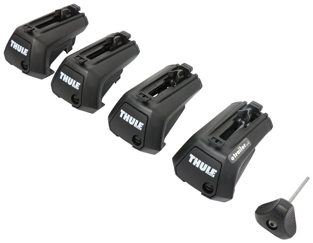 Evo Raised Rail Feet for Thule Crossbars - Factory Raised Rails - Qty 4 4 Pack TH710401